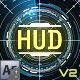CyberTech HUD Infographic Pack - VideoHive Item for Sale