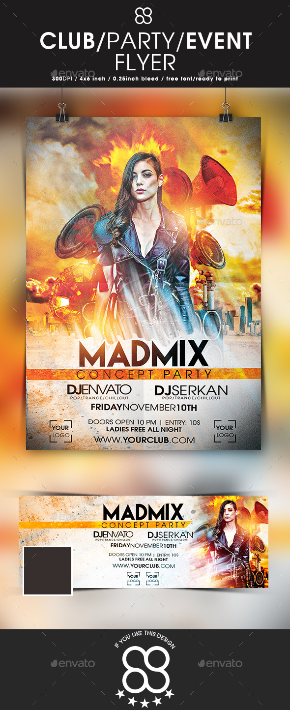 Mad Mix  Concept Party - Clubs & Parties Events