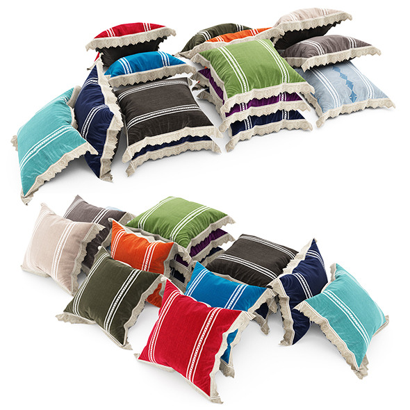 Pillows collection 80 - 3DOcean Item for Sale