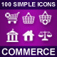 Set of simple icons • COMMERCE • - GraphicRiver Item for Sale