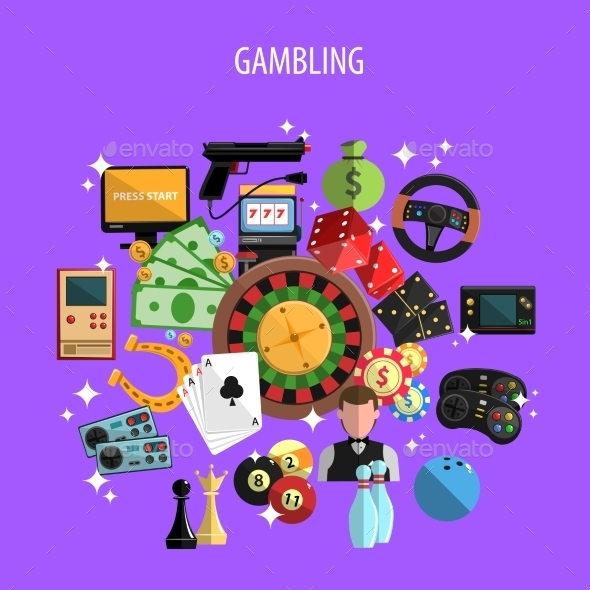 Gambling And Games Concept  - Sports/Activity Conceptual