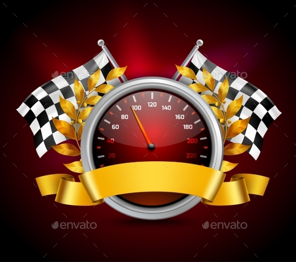 Race Emblem Realistic - Miscellaneous Vectors