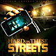 Hard Streets Mixtape / Flyer or CD Template - GraphicRiver Item for Sale