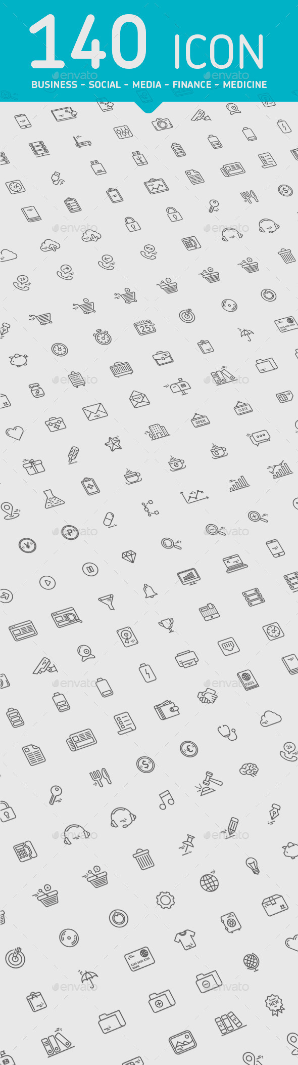 Line Icons - Miscellaneous Icons