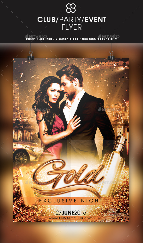 Gold Exclusive Night  - Clubs & Parties Events