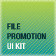 File Promotion UI Kit - GraphicRiver Item for Sale