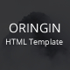 Oringin - Onepage HTML5 Template - ThemeForest Item for Sale