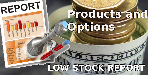 Low Stock Report for Opencart - CodeCanyon Item for Sale