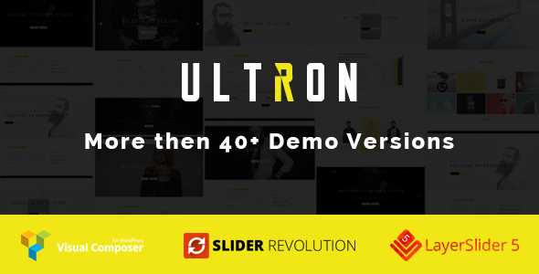 Ultron - One & Multi page Multipurpose WP Theme