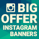 Instagram Big Offer Banners - GraphicRiver Item for Sale