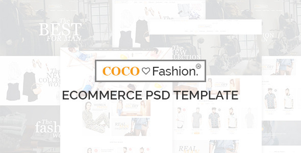 COCO – Ecommerce PSD Template