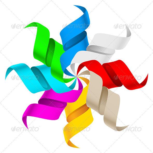 Ribbons - Characters Vectors