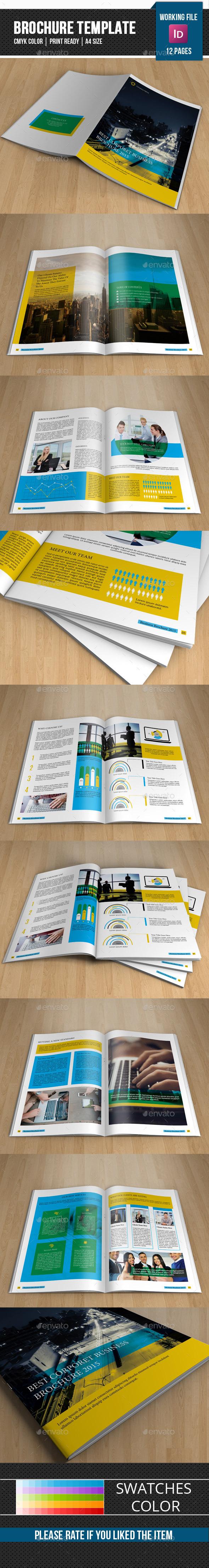 Business Brochure Template-V293 - Corporate Brochures