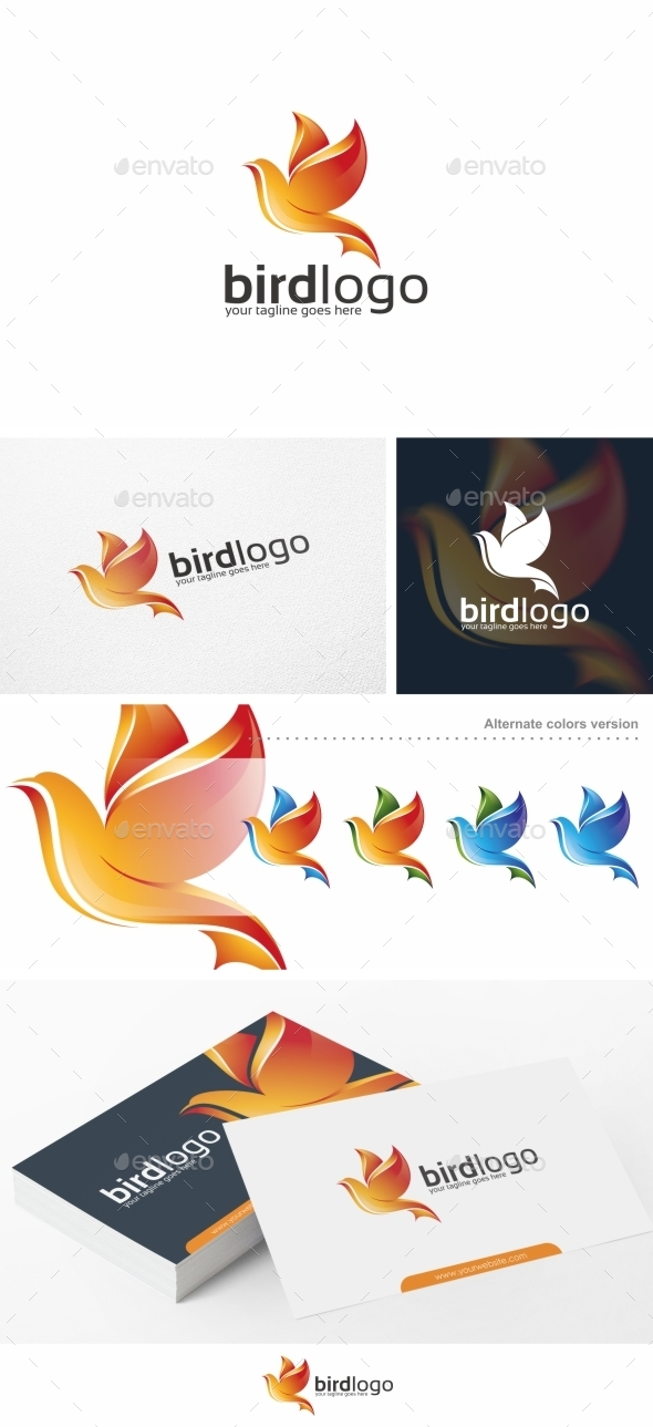 Bird Logo - Logo Template - Animals Logo Templates