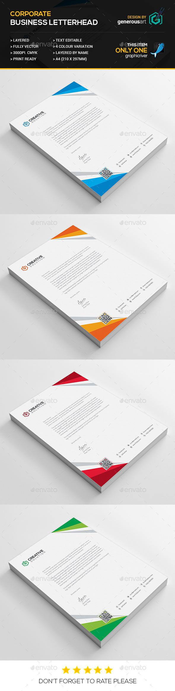 Business Letterhead 16