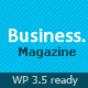 Business : Magazine Wordpress Theme - ThemeForest Item for Sale