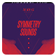 Minimal Flyer/Poster - Symmetry Sounds - GraphicRiver Item for Sale