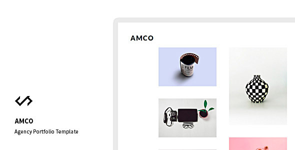Amco – Minimal Agency Portfolio Template