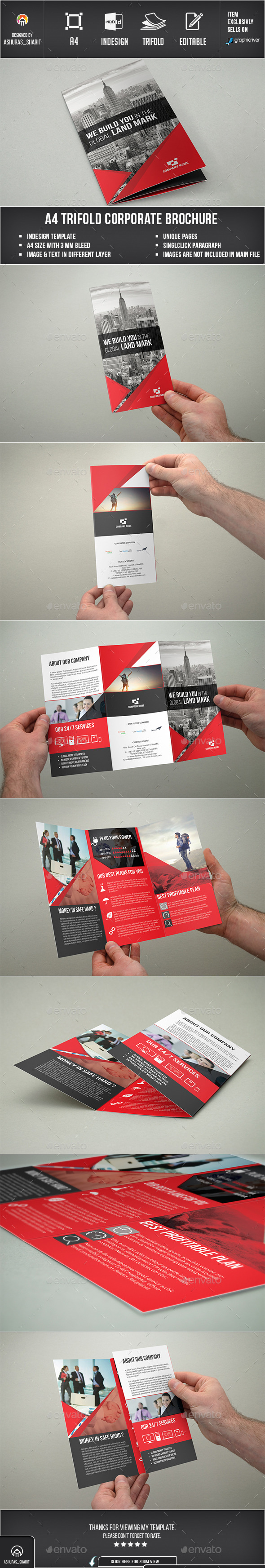 Trifold Brochure - Corporate Brochures