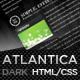 Dark Atlantica (HTML) - Premium Portfolio Template Nulled