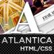 Atlantica (HTML) - Premium Portfolio Template Nulled