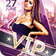 Classy Vip Party   Psd Flyer Template - GraphicRiver Item for Sale