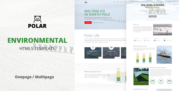 Image of Polar - Responsive Environmental Template