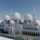 Massive Mosque in Abu Dhabi - 3DOcean Item for Sale