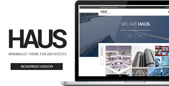 Haus – Architecture Theme for Architects