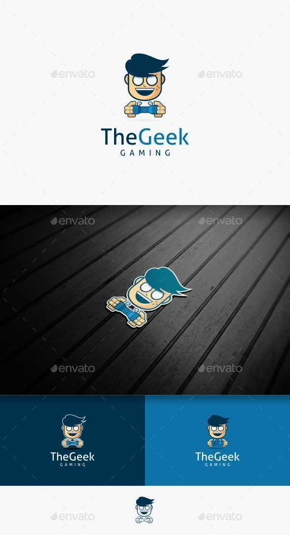 The Geek Gaming - Humans Logo Templates