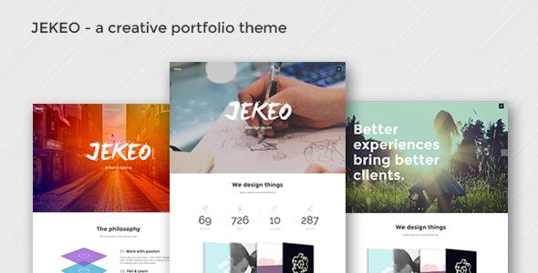 Jekeo - Creative Portfolio Theme - Portfolio Creative