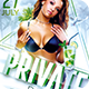 Classy Private Party   Psd Flyer Template - GraphicRiver Item for Sale