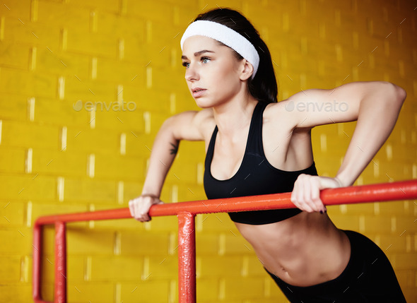 Exercising - Stock Photo - Images