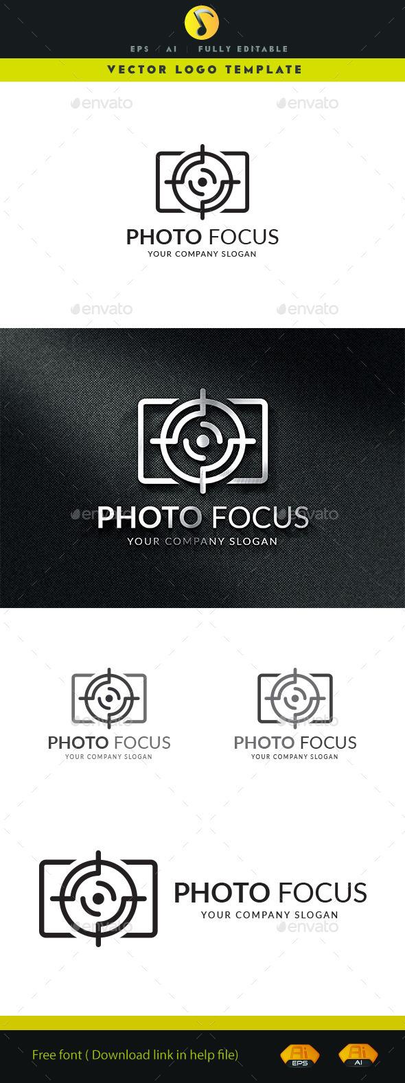 Photo Focus - Symbols Logo Templates