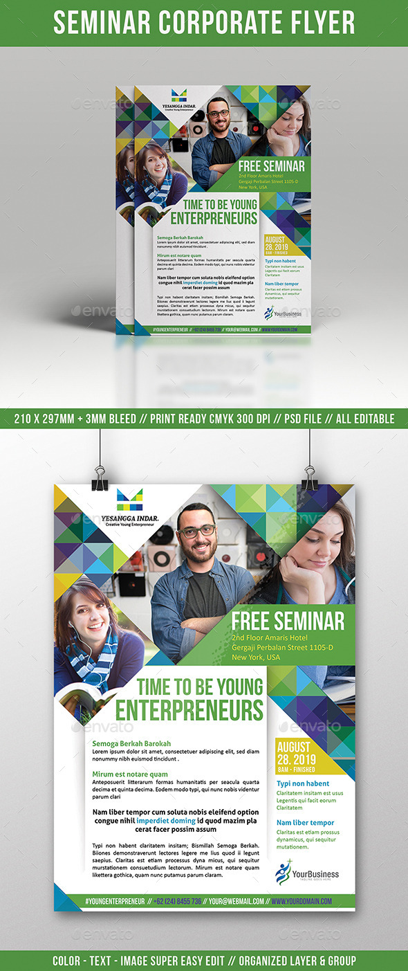 Seminar Flyer Multi Use by yesangga – Seminar Flyer