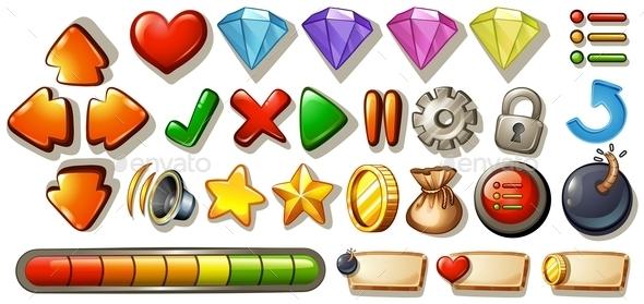 Game Elements - Miscellaneous Conceptual