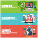 Flat Design Concepts for E-Commerce - GraphicRiver Item for Sale