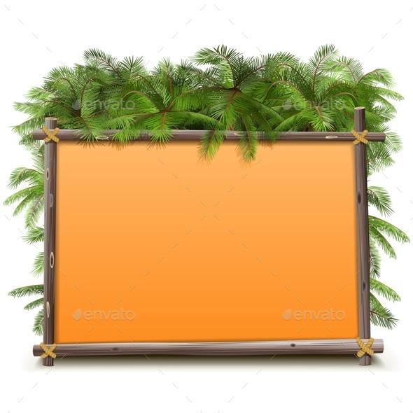 Jungle Frame - Travel Conceptual