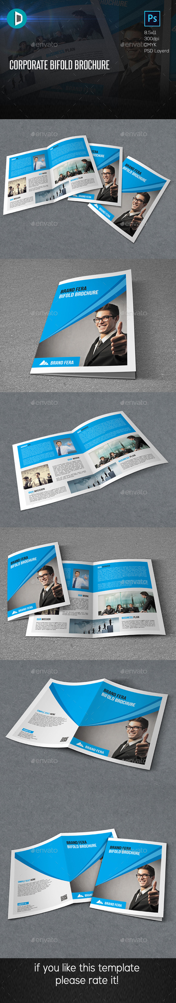 Corporate Bifold Brochure - Corporate Brochures