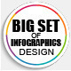 Bundle of Business Infographics Vector Design - GraphicRiver Item for Sale