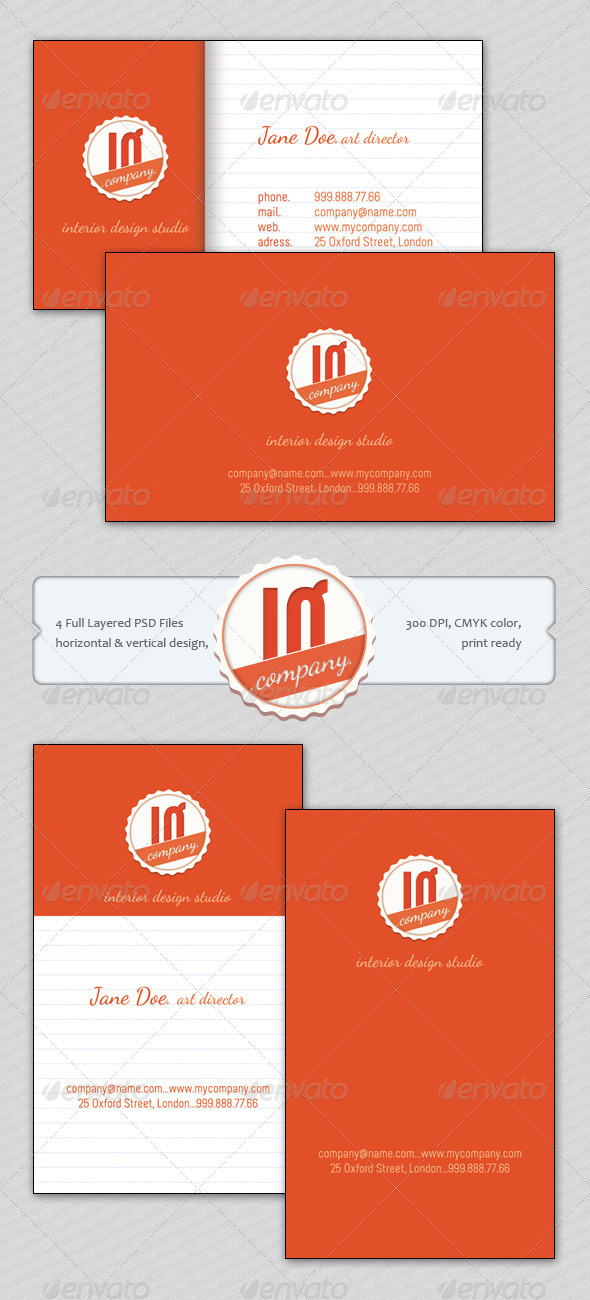 IQ Studio Business Card - Creative Business Cards
