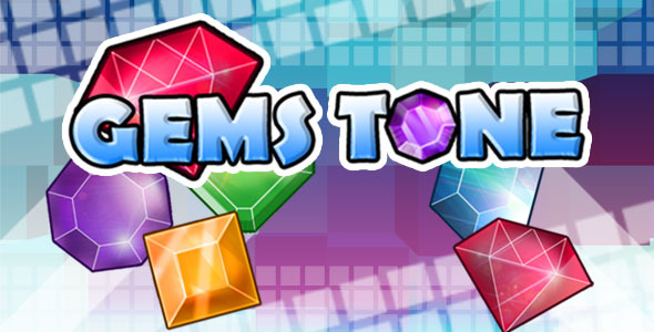 Gemstone - Tap 3 Match Game HTML5 - CodeCanyon Item for Sale
