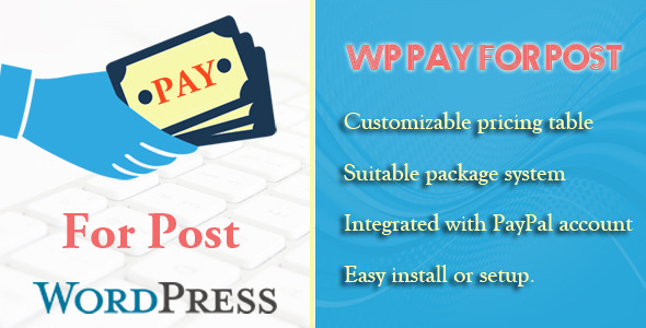 Wordpress Pay for Post Membership & Subscription - CodeCanyon Item for Sale