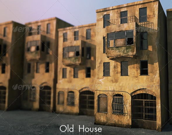 Old house by musicant 3docean for Old house classics