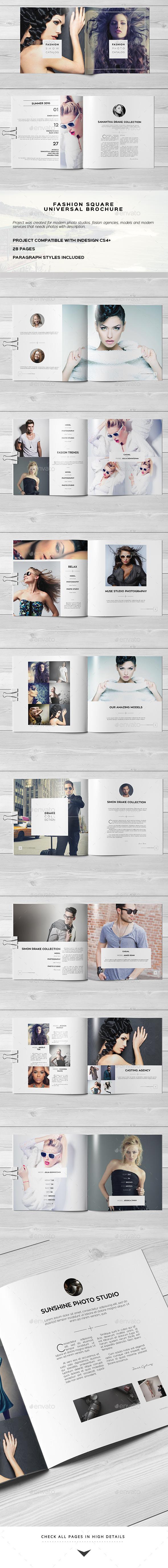 Fashion Square Universal Brochure / Catalog - Catalogs Brochures