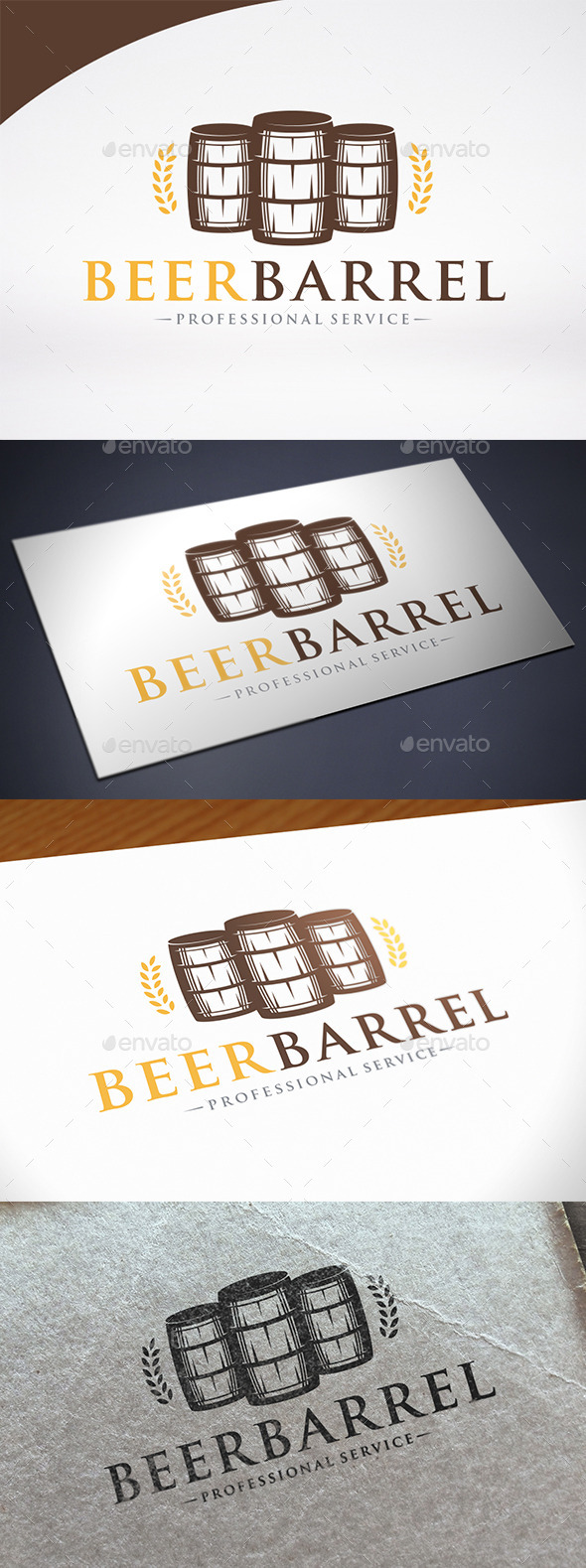 Barrel Logo Template - Objects Logo Templates