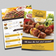 Restaurant Flyer & Loyalty Card Template - GraphicRiver Item for Sale