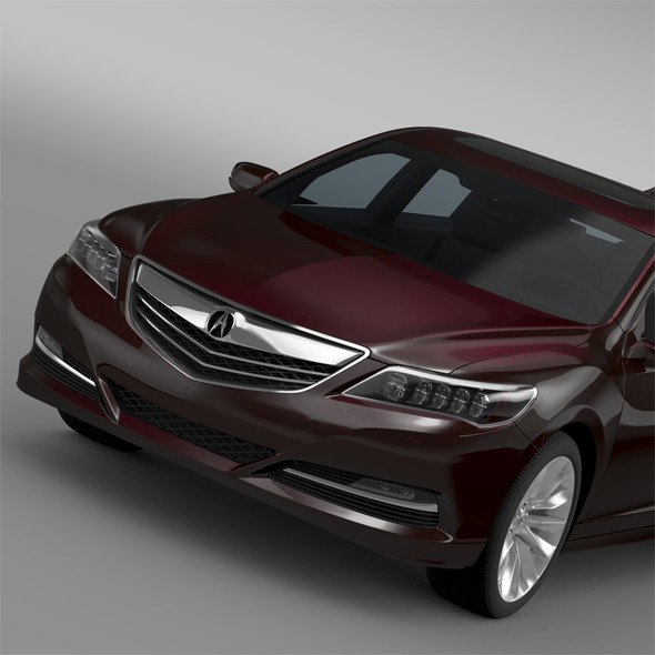 Acura RLX 2015 - 3DOcean Item for Sale
