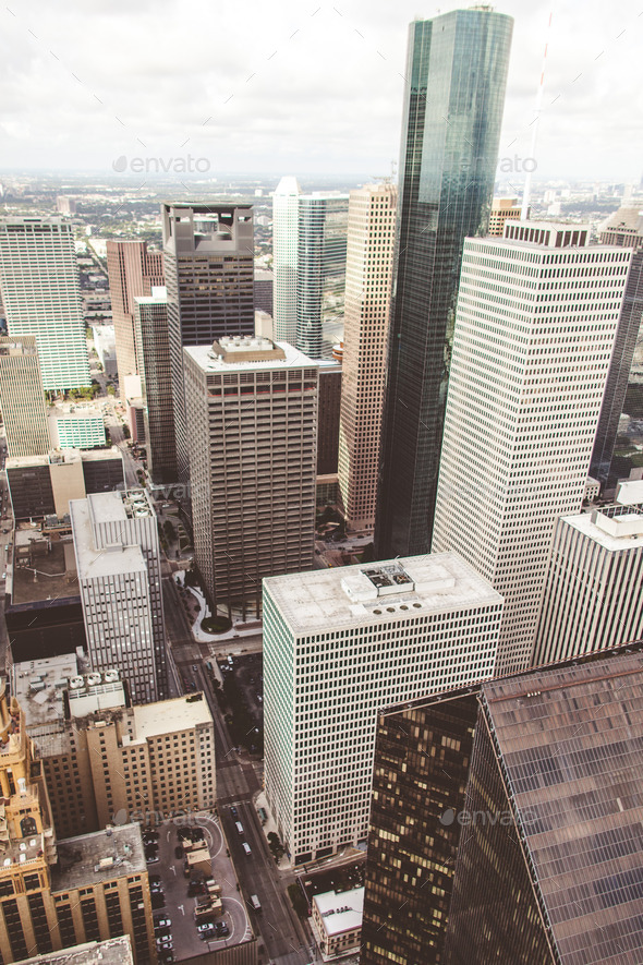 Cityscape of Texas - Stock Photo - Images
