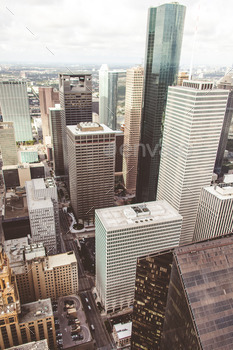 Cityscape of Texas